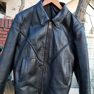 Beautiful blk leather jacket